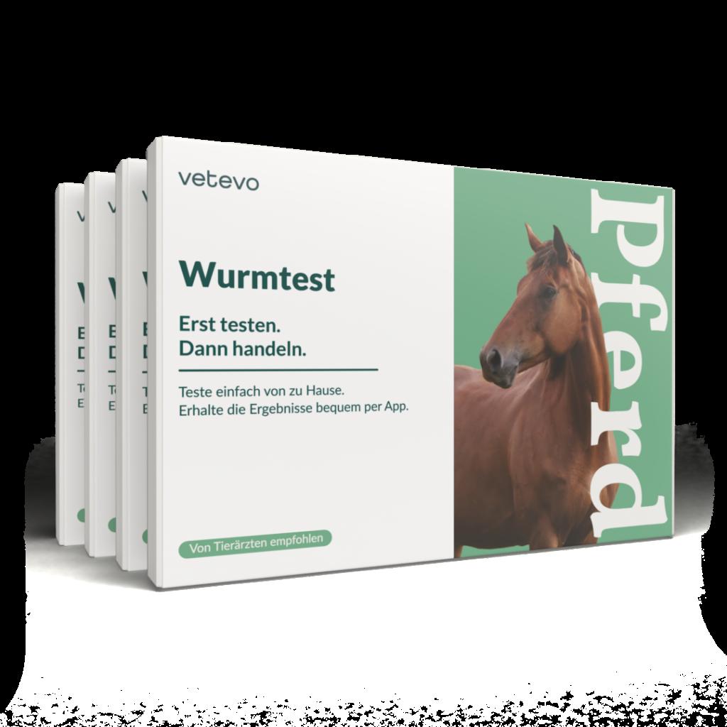 Vetevo Wurmtest für Pferde
